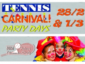 Tennis carnival party days